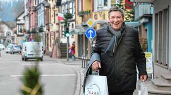 Alois Wussler liegt das Kinzigtal am Herzen: Der Einkauf vor Ort stärkt die Lebensqualität, sagt er.