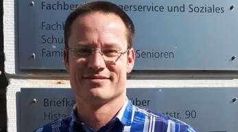 Michel Elsté, Abteilungsleiter Schulen und Sport der Stadt Offenburg.