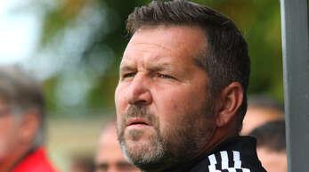 Co-Trainer Klaus Stefan sieht beim FV Langenwinkel noch Luft nach oben.