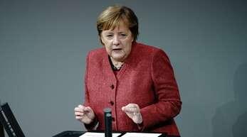 Angela Merkel forderte am Mittwoch weitreichende Schließungen nach Weihnachten.
