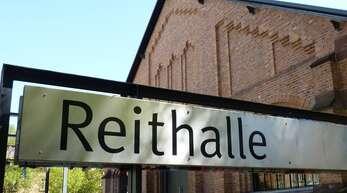 Die Reithalle: einst wilhelminischer Exerzierplatz, jetzt Veranstaltungsgebäude