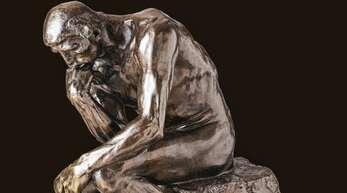 """Auguste Rodins Skulptur """"Der Denker"""" wurde aus Bronze gefertigt."""