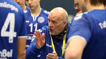 Trainer Ralf Ludwig soll auch in der kommenden Spielzeit das Südbadenliga-Team des TuS Helmlingen coachen.