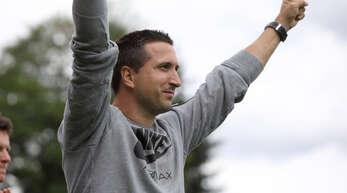 Benjamin Pfahler gewann erst mit der ersten Mannschaft und forderte dann selbst die U12 mit einer neuen Challenge heraus.