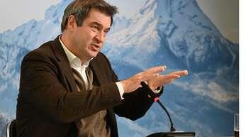 Der bayrische Regierungschef Markus Söder fordert die Bundesregierung auf, mehr Druck bei der Impfstoffversorgung zu machen.