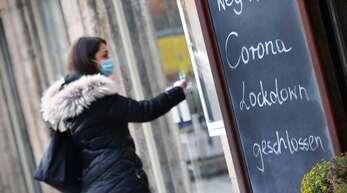 Geschlossen im Lockdown: Läden und Lokale