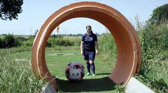 Nicht nur die beste Ortenauer Fußballgolferin, Stephanie Beiser, hofft auf eine baldige Öffnung des Soccerparks Ortenau und die Austragung der Ortenau Open am 20. März.