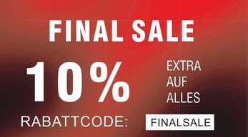 Fitnessgeräte, Schuhe und viele weitere Markenartikel wurden bei Intersport Kuhn gehörig reduziert.