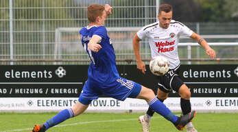 Lukas Raabe (r.) wird den SV Linx nach dieser Saison verlassen.