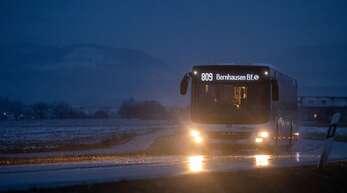Der Busverkehr leidet unter dem Fahrgastrückgang.