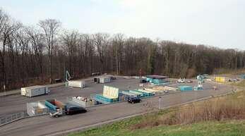 In der Deponie Rammersweier kann man erstmalig im Ortenaukreis über eine Rampe bis an die Container.