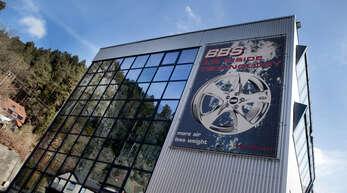 Der Standort Schiltach des Felgenherstellers BBS.