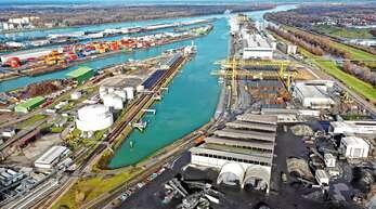 Einer der wichtigsten Industrie-Standorte in der Region: der Kehler Rheinhafen.