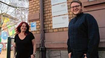 Hannes Krüger leitet seit Februar die Jugend- und Drogenberatung in Kehl. Ihm zur Seite steht Michèle Falch.