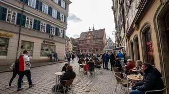 In Tübingen gelten gelockerte Corona-Regeln – zumindest jetzt noch. (Archivbild)