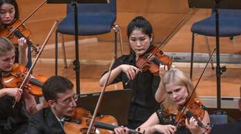 Konzert der Wiener Philharmoniker. Die Führungspositionen im Orchester sind zumeist männlich besetzt.