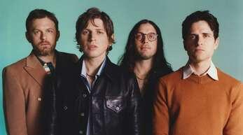 Die Kings of Leon aus der Musikerstadt Nashville, Tennessee