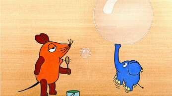 Eingespieltes Team: Die Maus und der kleine blaue Elefant.