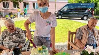 Erfüllte gemeinsame Zeit: Beim Küderle Pflegedienst Schwarzwaldpflege sind die Senioren rundum versorgt.