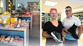 Bei Daniel Gesunde Schuhe in Haslach gibt es eine große Auswahl an modischen Komfortschuhen.