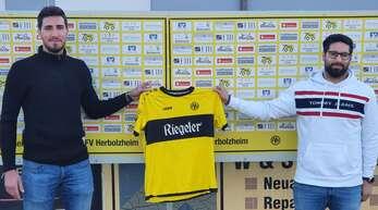 Sano Nothstein (l.) und Josef Tohmaz vom FV Herbolzheim.