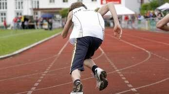 Wann die Leichtathleten aus der Region wieder aus dem Startblock starten dürfen, ist noch völlig ungewiss.
