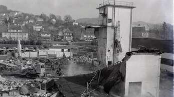 Dieses Foto stammt aus den Anfängen der Gengenbacher Firma Hukla.