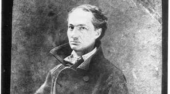Charles Baudelaire auf einem Foto aus dem Jahr 1855.