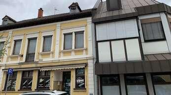 An dieser Stelle soll ein Verwaltungszentrum der Stadt Kehl entstehen. Bauherr ist die benachbarte Sparkasse.