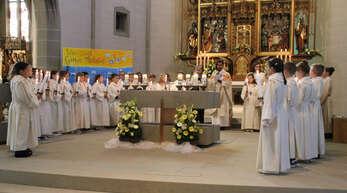 Auch im zweiten Corona-Jahr wird die Erstkommunion anders als in den Vorjahren sein – hier ein Bild aus der Zeit vor Corona aus Kappelrodeck.