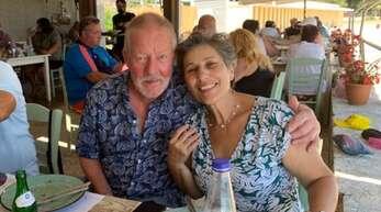 Martin und Despina Schütt auf der Messdi.