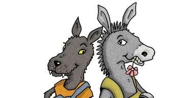 """""""Wolf"""" und """"Esel"""" arbeiten im Sommer jetzt Pfote in Huf. Das heißt: Erstmals wird ein gemeinsames Programm für beide Nachbardörfer organisiert."""
