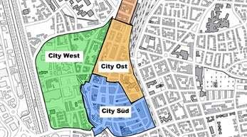 Das neue Parkleitsystem führt zu Parkhäusern und Parkplätzen in vier innerstädtischen Zielgebieten.