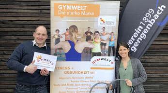 Corona sorgt für große Einschränkungen. Dass Vereine trotzdem etwas bewegen können, zeigen Rainer Klipfel (Vorsitzender des Turnvereins Gengenbach) undund Abteilungsleiterin Lisa Rendler.