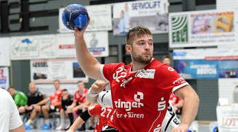 Willstätts Spielmacher Daniel Schliedermann hat Probleme mit dem Oberschenkel, hofft aber, dass er am Samstag gegen Krefeld spielen kann.
