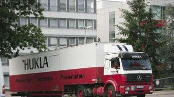 Waren national wie international Botschafter für Qualität made in Gengenbach: die Hukla-Laster.