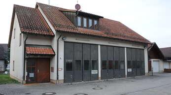 Das Feuerwehrhaus in Zunsweier.