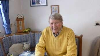 Wird heute 90 Jahre alt: Walter Bächle aus Bad Rippoldsau. Gefeiert wird coronabedingt in kleinem Rahmen.