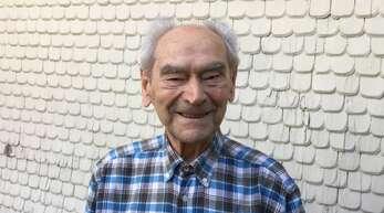 Philipp Lienert an seinem 100. Geburtstag. Am Dienstag ist der Zell-Weierbacher im Alter von 103 Jahren im Kreise seiner Familie verstorben.