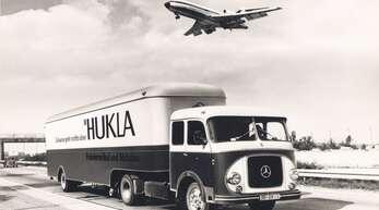 Dynamisch und weltoffen: So warb die Firma Hukla schon vor rund 60 Jahren.