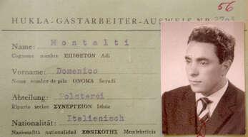 Domenico Montalti war einer der ersten italienischen Gastarbeiter bei der Gengenbacher Hukla.