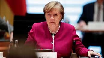 Bundeskanzlerin Angela Merkel. (Archivbild)