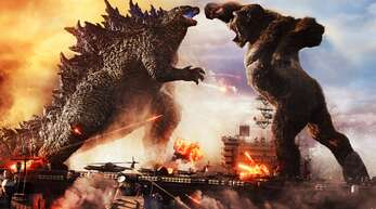 Godzilla und King Kong wissen, was die Menschen unterhält: eine zünftige Prügelei.