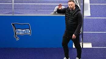 Herthas Trainer Pal Dardai tritt mit seinem Team nicht gegen Mainz an.
