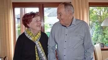 Heute ist nicht nur die Eiserne Hochzeit von Lilli und Werner Maier, sondern auch der 85. Geburtstag der Jubilarin.