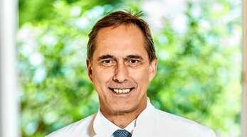 Siegfried Wentz ist Chefarzt der Orthopädie in der Schlüsselbad Klinik.