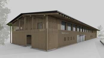 """Architekt Christoph Wussler stellte in der Gemeinderatssitzung am Mittwoch auch die aktuelle Entwurfsplanung für den """"Kindergarten im Dorf"""" vor. Hierüber berichten wir in der Samstagsausgabe noch ausführlich."""