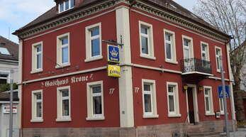 """Die """"Krone"""" in Oberkirch öffnet nicht mehr unter der Leitung von Christian Cleiß."""