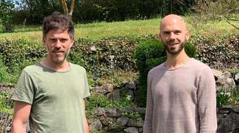 Jan Herdrich (l.) und Patrick Schmid bilden künftig das Trainerteam des FV Sulz.