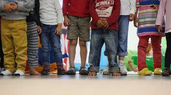 """""""So granatenmäßig schlimm ist es nicht"""": Im Gemeinderat gab es am Montagabend eine Diskussion über Schnelltests für Schüler und Kita-Kinder."""